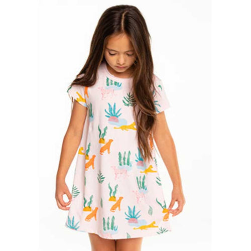 Chaser Lion Oasis Jersey Shirt Girls Dress
