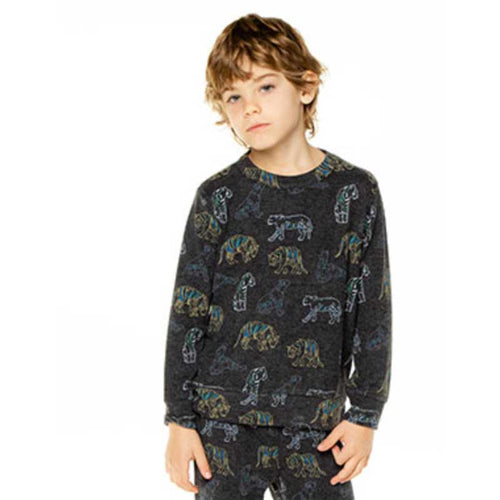 Chaser Jungle Boys Love Knit Sweatshirt