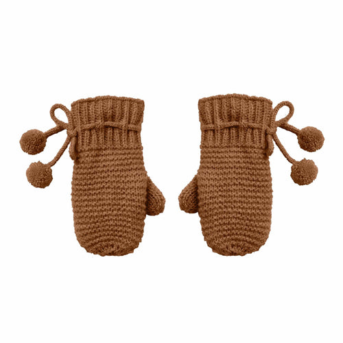 Rylee and cru brown kids mittens