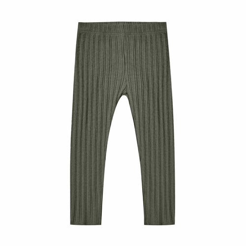 Rylee and cru green ribbed boys pants