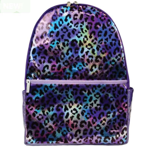 iScream Leopard Iridescent Backpack