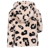 Appaman Animal Print Faux Fur Girls Coat