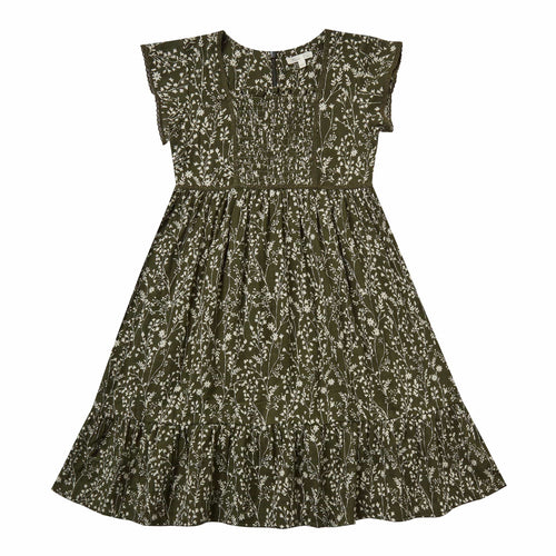 Rylee and Cru Forest Vines Madeline Girls Dress
