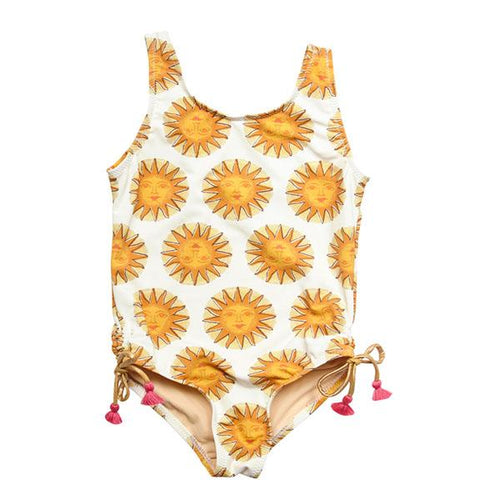 Marcie Sun Girls Swimsuit by Pink Chicken - Little Skye Children's Boutique