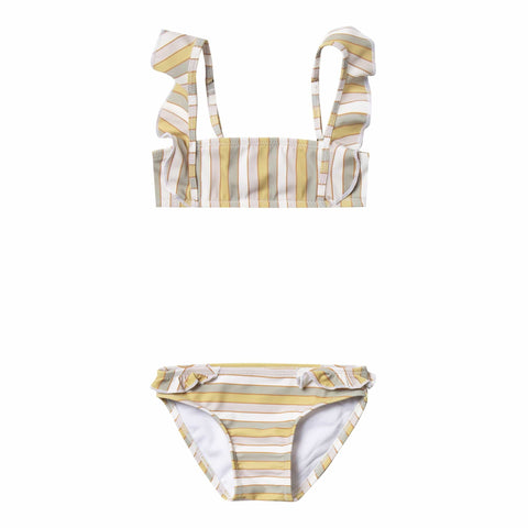Rylee and Cru Stripe Marienta Girls Bikini