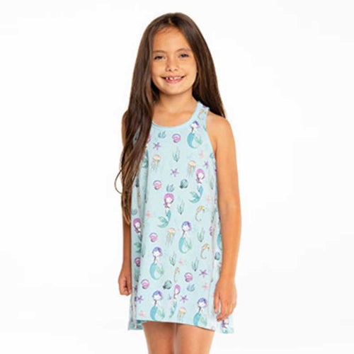 Chaser Under The Sea Mermaids Jersey Tank Girls Dress