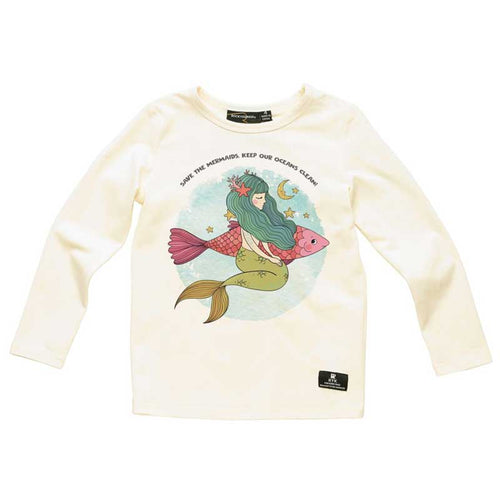 Rock Your Kid Mermaid Girls Tee