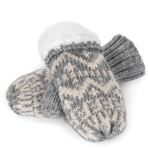 Appaman Grey Bedford Mittens