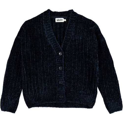 Molo Ink Blue Gianna Girls Cardigan