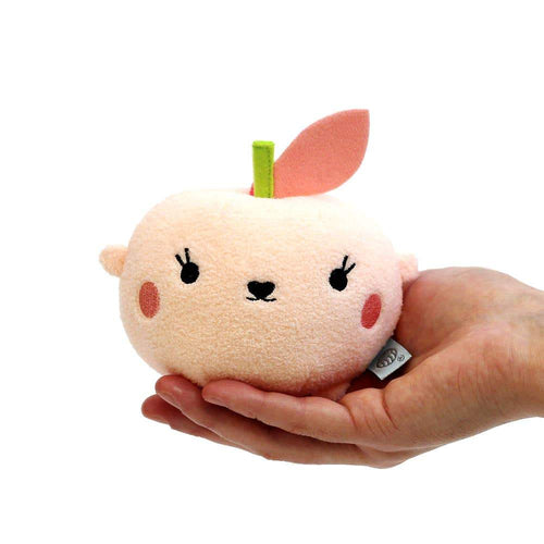 Noodoll peach mini stuffed animal plush toy for baby