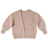 Rylee and Cru Oat Gretel Girls Cardigan
