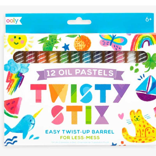 Ooly Twisty Stix Oil Pastels