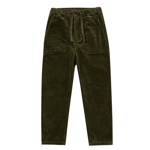 Rylee and cru green corduroy boys pants