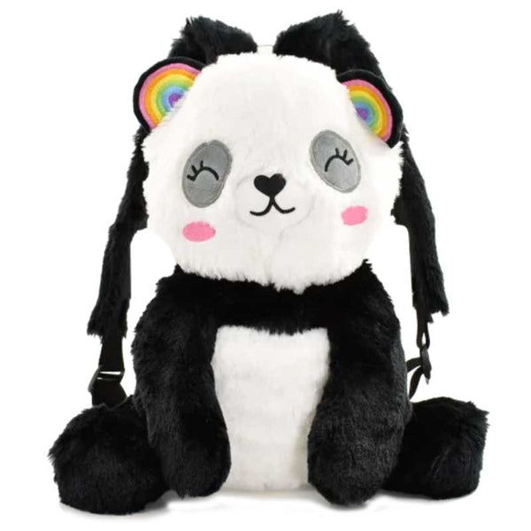 iScream Panda Furry Backpack