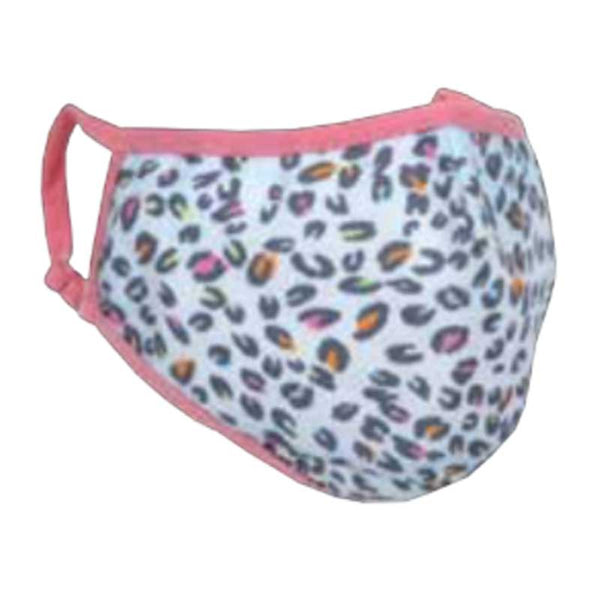 iScream Pastel Leopard Face Mask - Kid Size