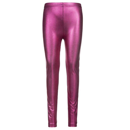 Appaman Metallic Dark Pink Girls Leggings
