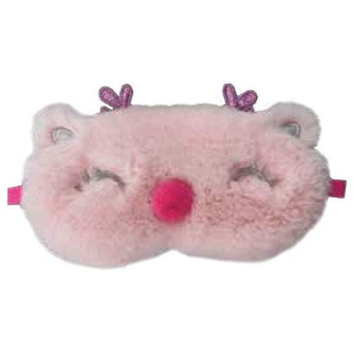 iScream Holiday Pink Reindeer Eye Sleep Mask