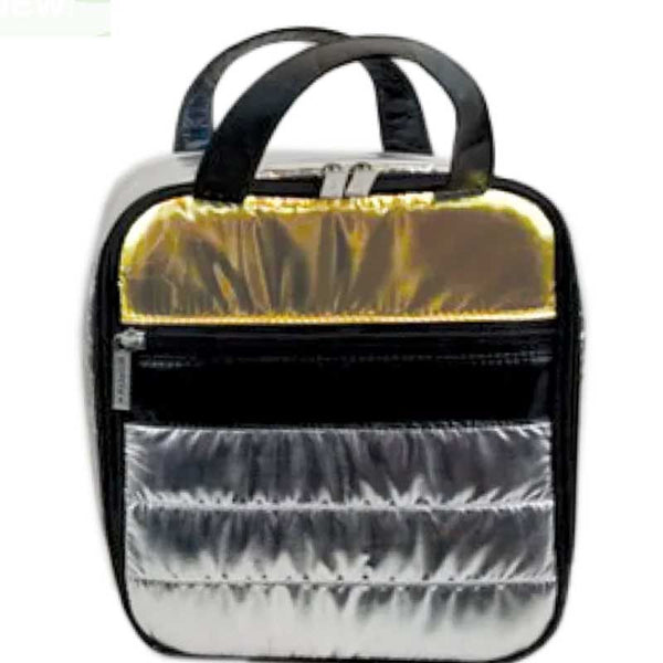iScream Silver and Gold Puffer Lunchbox