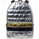 iScream Silver and Gold Puffer Backpack
