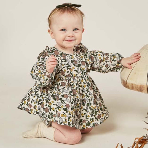 Rylee and Cru Enchanted Garden Piper Baby Blouse