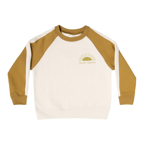 Rylee and Cru You're Golden Raglan Sweatshirt