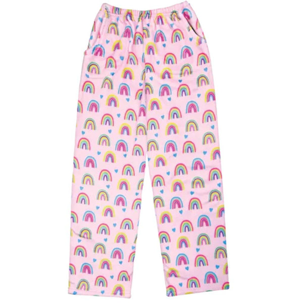 iScream Rainbows Plush Girls Pants