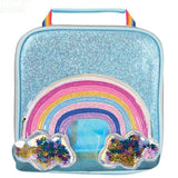 iScream Rainbow Glitter Stars Lunchbox