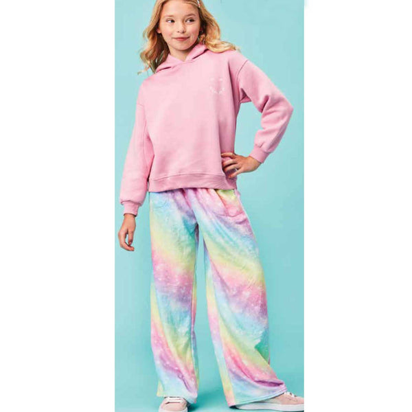 iScream Rainbow Shimmer Plush Girls Pants