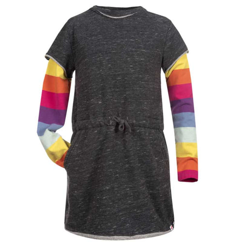 Appaman Rainbow Sleeve Girls Dress