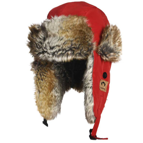 Appaman Red Benji Trapper Hat