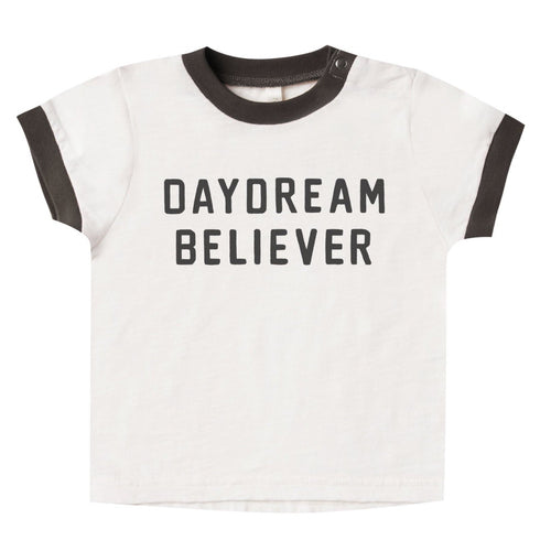 rylee and cru ivory short sleeve daydream girls statement t shirt