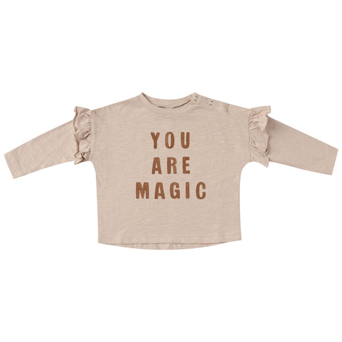 Rylee and Cru You Are Magic Ruffle Girls Tee