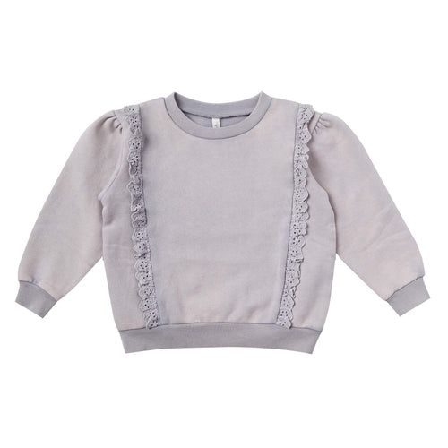 Rylee and Cru Periwinkle Scarlette Girls Pullover