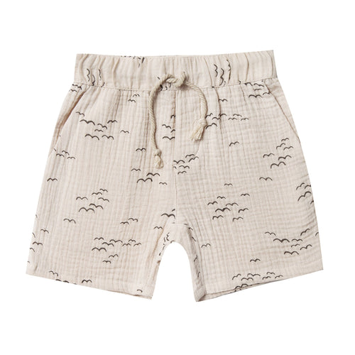 Rylee and cru tan seagull drawstring boys shorts