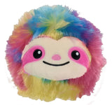 iScream Rainbow Sloth Mini Stress Pillow