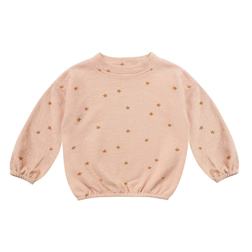 Rylee and Cru Rose Star Slouchy Girls Pullover
