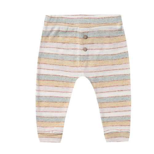Rylee and cru natural stripe knit baby pants