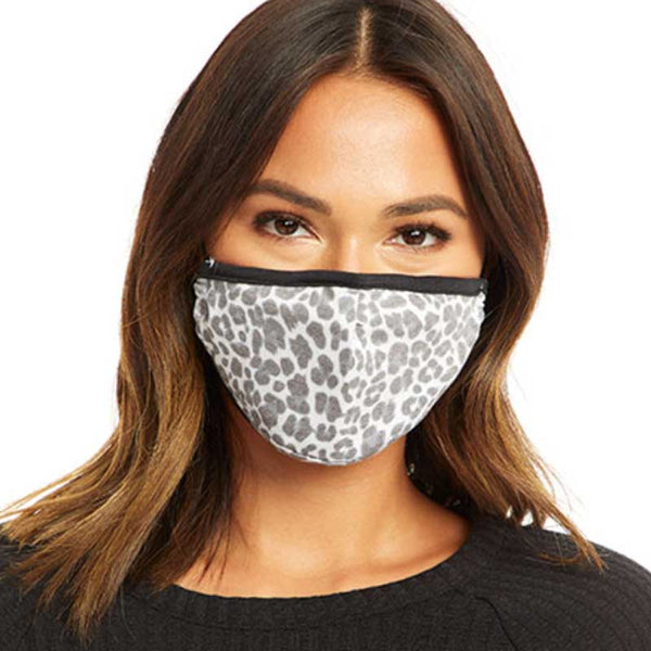 Chaser Women & Teen Mask - Snow Leopard