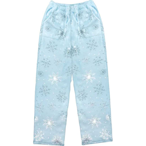iScream Snowflakes Holiday Plush Pants