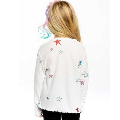 Chaser Star Thermal Scallop Girls Tee