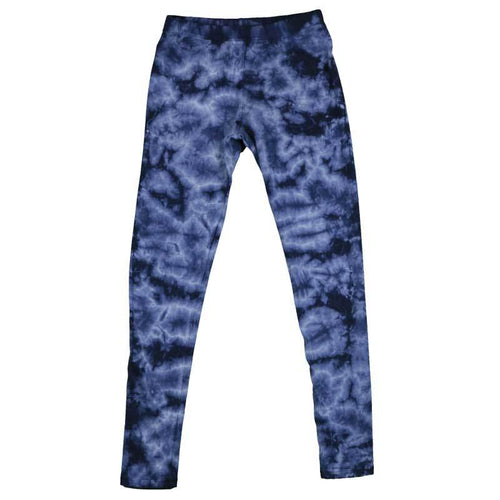 T2love blue tie dye tween girl leggings