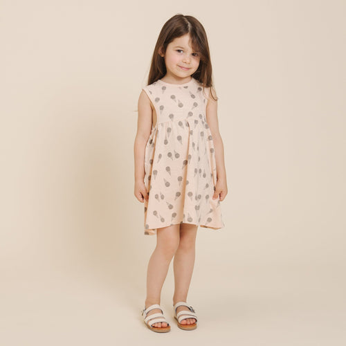 Rylee and cru pink ice cream print sleeveless girls dress