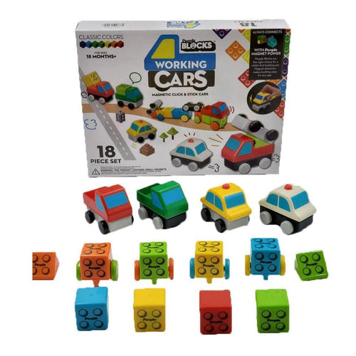 Kids blocks car building toy for toddlers