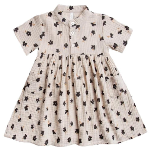 Rylee and cru flower print girls dress