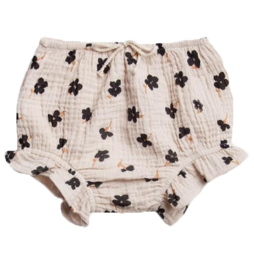Rylee and cru flower print baby girl bloomers