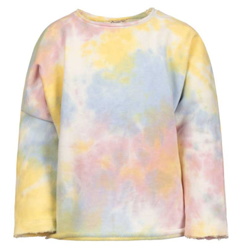 Appaman Tie Dye Girls Slouchy Sweatshirt