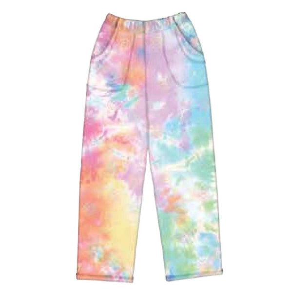 iScream Cotton Candy Tie Dye Plush Girls Pants