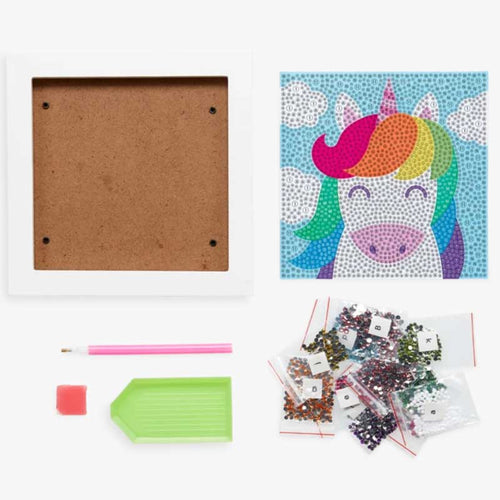 Ooly Razzle Dazzle DIY Gem Art Kit - Unique Unicorns