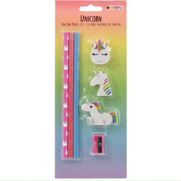 iScream Unicorn Pencil Set