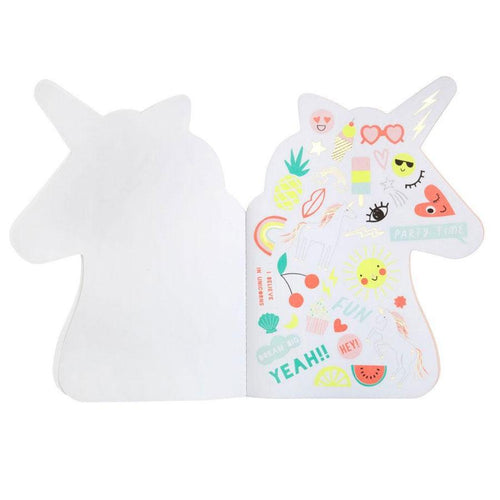 Meri Meri unicorn sticker book for kids
